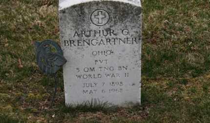 BRENGARTNER, ARTHUR G. - Erie County, Ohio   ARTHUR G. BRENGARTNER - Ohio Gravestone Photos
