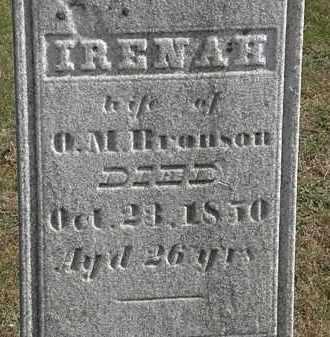 BRONSON, O.M. - Erie County, Ohio   O.M. BRONSON - Ohio Gravestone Photos