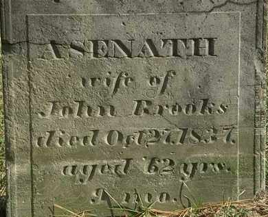 BROOKS, ASENATH - Erie County, Ohio | ASENATH BROOKS - Ohio Gravestone Photos