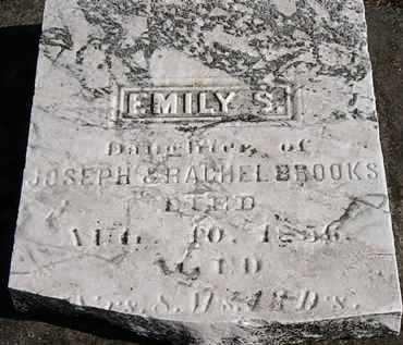 BROOKS, EMILY S. - Erie County, Ohio | EMILY S. BROOKS - Ohio Gravestone Photos