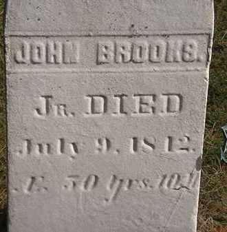 BROOKS, JOHN JR. - Erie County, Ohio | JOHN JR. BROOKS - Ohio Gravestone Photos