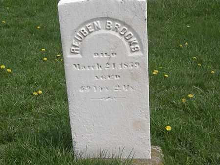 BROOKS, REUBEN - Erie County, Ohio | REUBEN BROOKS - Ohio Gravestone Photos