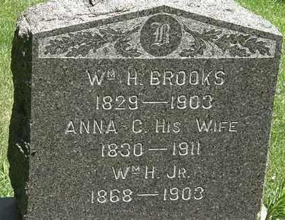 BROOKS, WM. H. JR - Erie County, Ohio | WM. H. JR BROOKS - Ohio Gravestone Photos