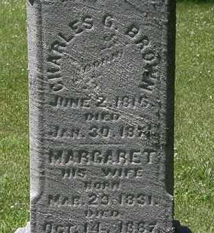BROWN, MARGARET - Erie County, Ohio | MARGARET BROWN - Ohio Gravestone Photos