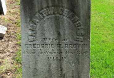 BROWN, SAMANTHA - Erie County, Ohio | SAMANTHA BROWN - Ohio Gravestone Photos