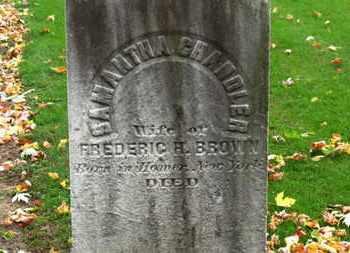 BROWN, SAMANTHA - Erie County, Ohio | SAMANTHA BROWN - Ohio Gravestone Photos