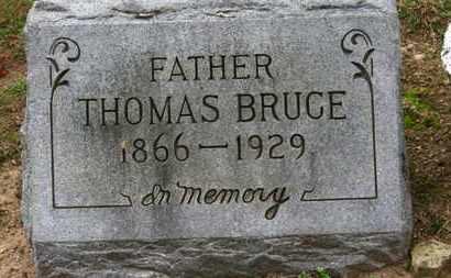BRUCE, THOMAS - Erie County, Ohio | THOMAS BRUCE - Ohio Gravestone Photos