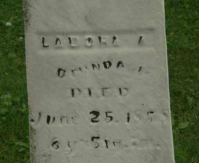 BRUNDAGE, LADORA A. - Erie County, Ohio   LADORA A. BRUNDAGE - Ohio Gravestone Photos