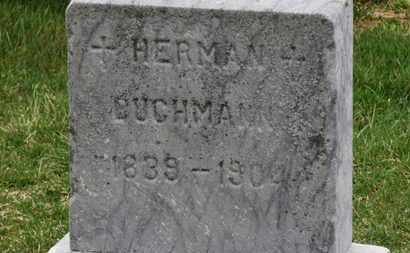 BUCHMANN, HERMAN - Erie County, Ohio   HERMAN BUCHMANN - Ohio Gravestone Photos