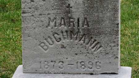 BUCHMANN, MARIA - Erie County, Ohio   MARIA BUCHMANN - Ohio Gravestone Photos