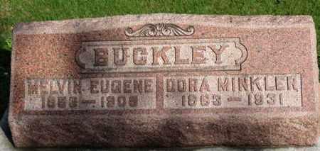 MINKLER BUCKLEY, DORA - Erie County, Ohio | DORA MINKLER BUCKLEY - Ohio Gravestone Photos