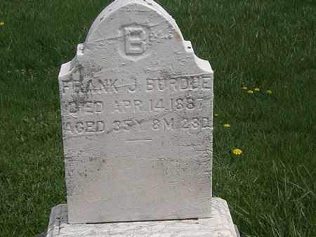 BURDUE, FRANK J. - Erie County, Ohio   FRANK J. BURDUE - Ohio Gravestone Photos