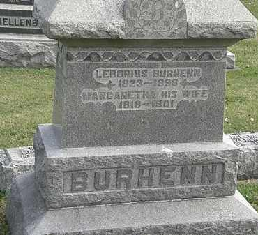 BURHENN, LEBORIUS - Erie County, Ohio | LEBORIUS BURHENN - Ohio Gravestone Photos