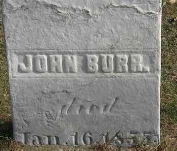 BURR, JOHN - Erie County, Ohio | JOHN BURR - Ohio Gravestone Photos