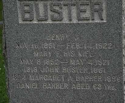 BARBER, DANIEL - Erie County, Ohio   DANIEL BARBER - Ohio Gravestone Photos