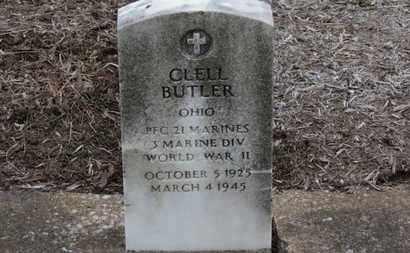 BUTLER, CLELL - Erie County, Ohio | CLELL BUTLER - Ohio Gravestone Photos