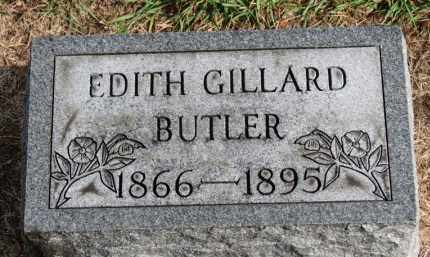BUTLER, EDITH - Erie County, Ohio | EDITH BUTLER - Ohio Gravestone Photos