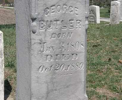 BUTLER, GEORGE - Erie County, Ohio | GEORGE BUTLER - Ohio Gravestone Photos