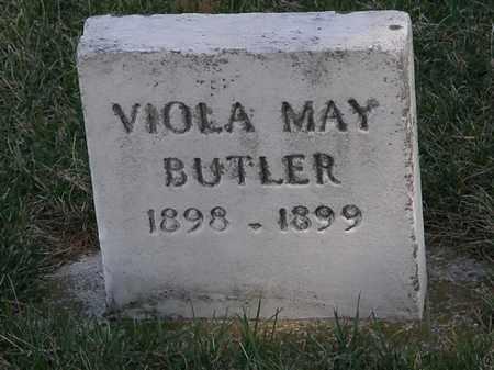 BUTLER, VIOLA MAY - Erie County, Ohio | VIOLA MAY BUTLER - Ohio Gravestone Photos