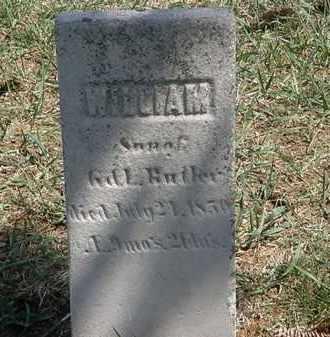 BUTLER, WILLIAM - Erie County, Ohio | WILLIAM BUTLER - Ohio Gravestone Photos