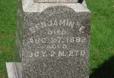 BUTLLER, BENJAMIN F. - Erie County, Ohio | BENJAMIN F. BUTLLER - Ohio Gravestone Photos
