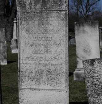 WATERMAN BUTMAN, CAROLINE - Erie County, Ohio | CAROLINE WATERMAN BUTMAN - Ohio Gravestone Photos