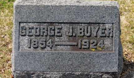 BUYER, GEORGE J. - Erie County, Ohio | GEORGE J. BUYER - Ohio Gravestone Photos