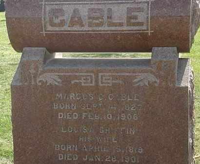 CABLE, LOUISA A. - Erie County, Ohio | LOUISA A. CABLE - Ohio Gravestone Photos