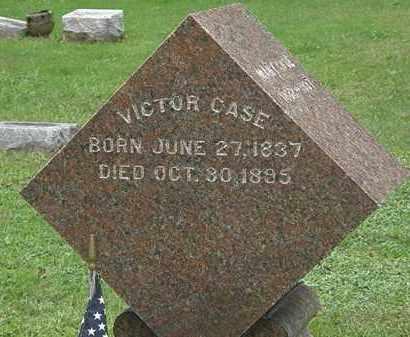CASE, VICTOR - Erie County, Ohio | VICTOR CASE - Ohio Gravestone Photos