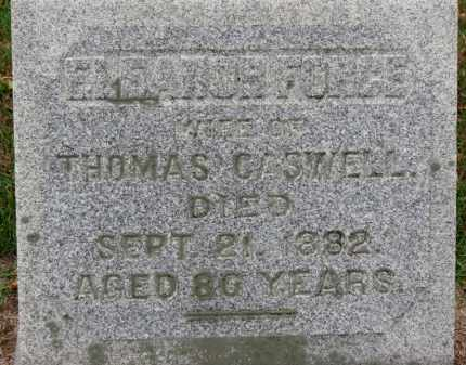 CASWELL, ELEANOR - Erie County, Ohio   ELEANOR CASWELL - Ohio Gravestone Photos