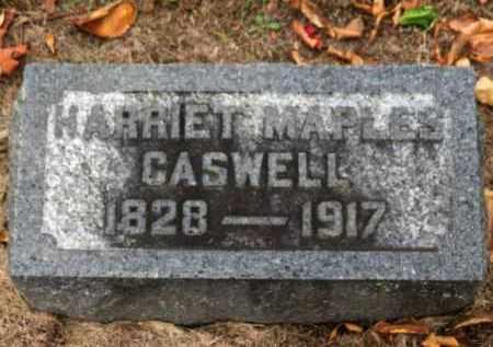 MAPLES CASWELL, HARRIET - Erie County, Ohio | HARRIET MAPLES CASWELL - Ohio Gravestone Photos
