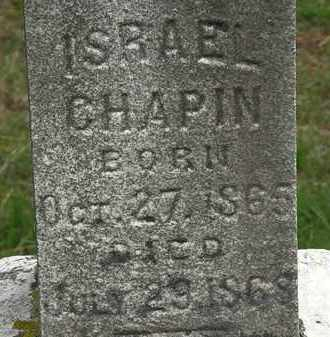 CHAPIN, ISRAEL - Erie County, Ohio | ISRAEL CHAPIN - Ohio Gravestone Photos