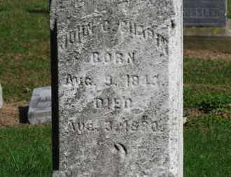 CHAPIN, JOHN - Erie County, Ohio | JOHN CHAPIN - Ohio Gravestone Photos