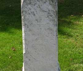 CHAPIN, MATTIE B. - Erie County, Ohio   MATTIE B. CHAPIN - Ohio Gravestone Photos