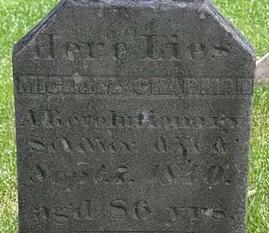 CHAPMAN, MICHAEL - Erie County, Ohio | MICHAEL CHAPMAN - Ohio Gravestone Photos