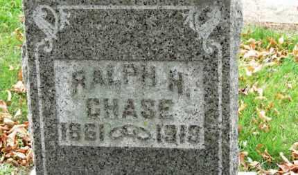 CHASE, RALPH H. - Erie County, Ohio | RALPH H. CHASE - Ohio Gravestone Photos