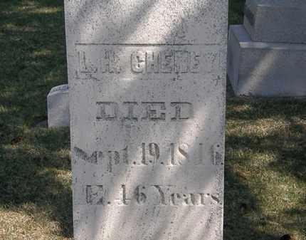 CHENEY, L. H. - Erie County, Ohio | L. H. CHENEY - Ohio Gravestone Photos