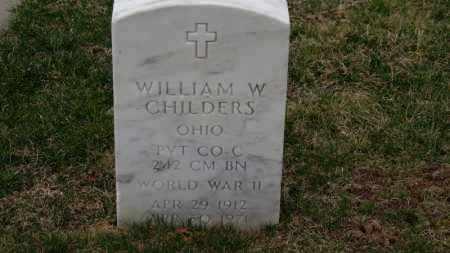 CHILDERS, WILLIAM W. - Erie County, Ohio   WILLIAM W. CHILDERS - Ohio Gravestone Photos