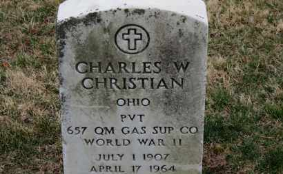 CHRISTIAN, CHARLES W. - Erie County, Ohio | CHARLES W. CHRISTIAN - Ohio Gravestone Photos