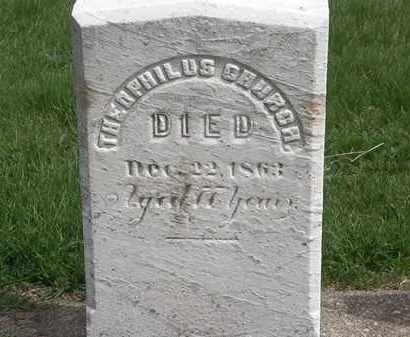CHURCH, THEOPHILUS - Erie County, Ohio   THEOPHILUS CHURCH - Ohio Gravestone Photos