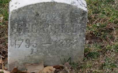 CHURCHILL, MARY - Erie County, Ohio | MARY CHURCHILL - Ohio Gravestone Photos