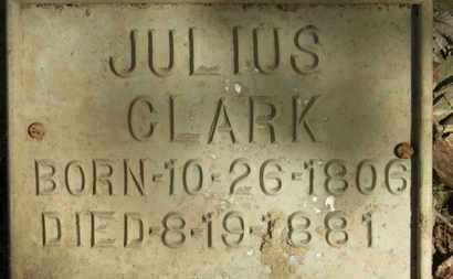 CLARK, JULIUS - Erie County, Ohio | JULIUS CLARK - Ohio Gravestone Photos