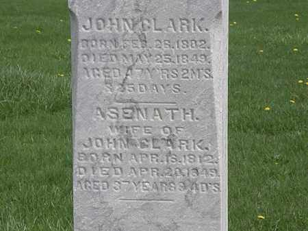 CLARK, JOHN - Erie County, Ohio | JOHN CLARK - Ohio Gravestone Photos