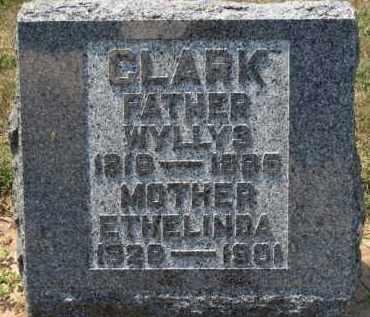 CLARK, ETHELINDA - Erie County, Ohio | ETHELINDA CLARK - Ohio Gravestone Photos