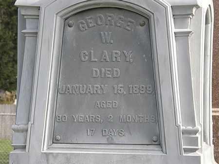 CLARY, GEORGE W. - Erie County, Ohio | GEORGE W. CLARY - Ohio Gravestone Photos