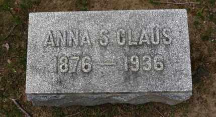 CLAUS, ANNA S. - Erie County, Ohio | ANNA S. CLAUS - Ohio Gravestone Photos
