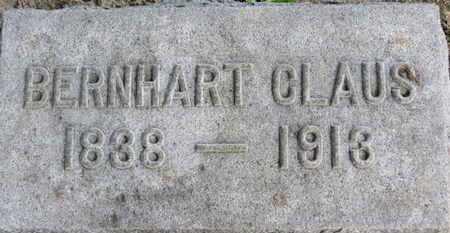 CLAUS, BERNHART - Erie County, Ohio   BERNHART CLAUS - Ohio Gravestone Photos