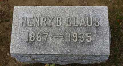 CLAUS, HENRYB. - Erie County, Ohio | HENRYB. CLAUS - Ohio Gravestone Photos