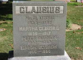CLAUSIUS, MARTHA - Erie County, Ohio   MARTHA CLAUSIUS - Ohio Gravestone Photos