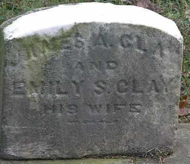 CLAY, JAMES A. - Erie County, Ohio | JAMES A. CLAY - Ohio Gravestone Photos